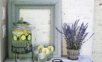 drink table makeover