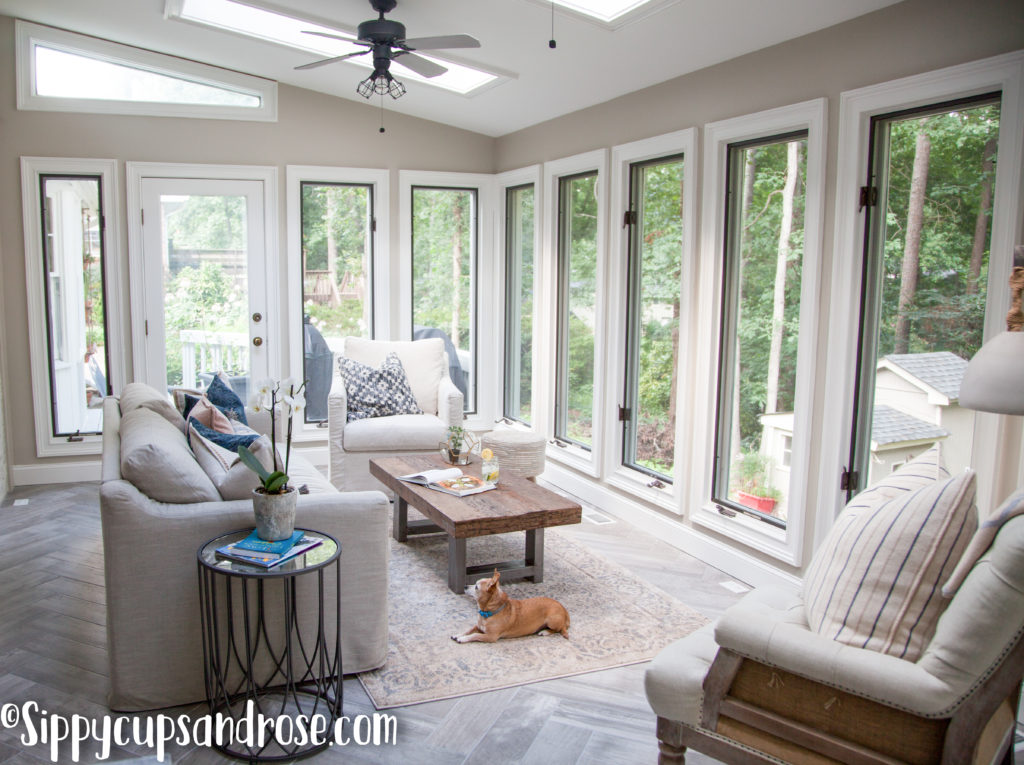 Sun Room Ideas Sun Room Reveal Design Sippy Cups And