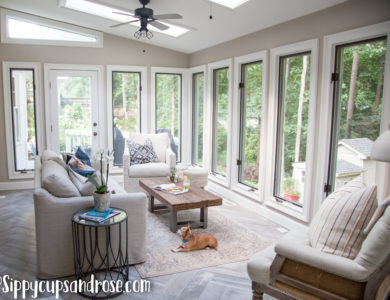 Sun Room Ideas: Our Sunroom Remodel Reveal